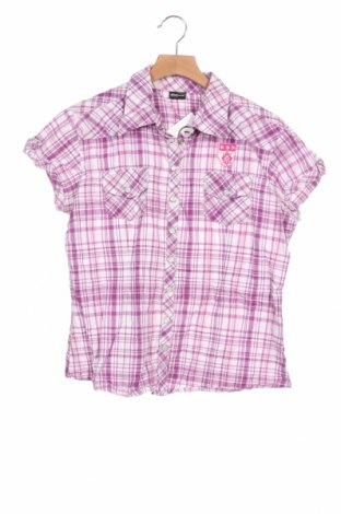 Детска риза Madonna, Размер 12-13y/ 158-164 см, Цвят Лилав, 99% памук, 1% еластан, Цена 12,50лв.