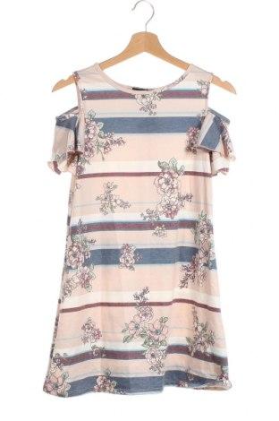 Детска рокля Amy Byer, Размер 15-18y/ 170-176 см, Цвят Многоцветен, 66% полиестер, 31% вискоза, 3% еластан, Цена 21,95лв.