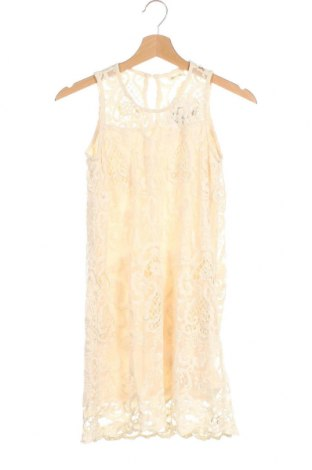 Dětské šaty  Monteau, Velikost 12-13y/ 158-164 cm, Barva Béžová, 70% bavlna, 15% polyamide, 15% polyester, Cena  178,00Kč