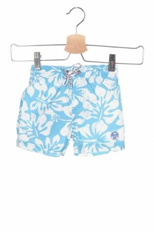 Dětské plavky  North Sails, Velikost 9-12m/ 74-80 cm, Barva Modrá, 54% bavlna, 46% polyamide, Cena  154,00Kč