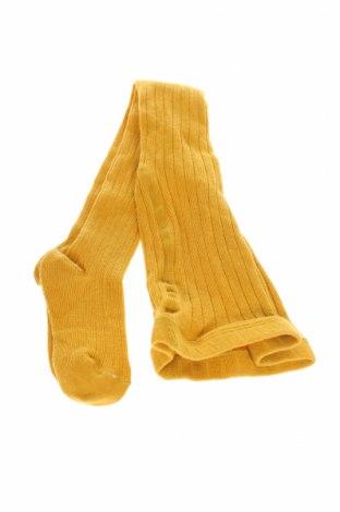 Παιδικό καλσόν, Μέγεθος 3-4y/ 104-110 εκ., Χρώμα Κίτρινο, 80% βαμβάκι, 17% πολυαμίδη, 3% ελαστάνη, Τιμή 3,80€
