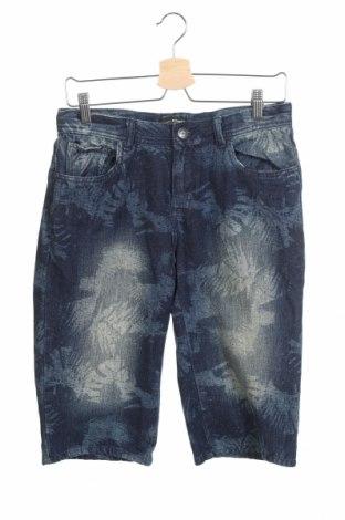 Παιδικό κοντό παντελόνι Charles Vogele, Μέγεθος 14-15y/ 168-170 εκ., Χρώμα Μπλέ, 65% βαμβάκι, 35% πολυεστέρας, Τιμή 7,73€