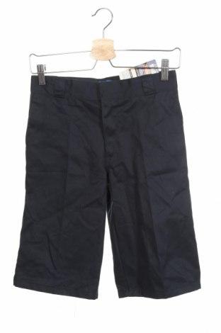 Детски къс панталон Dickies, Размер 10-11y/ 146-152 см, Цвят Син, 60% памук, 40% полиестер, Цена 6,83лв.