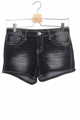 Детски къс панталон Mudd, Размер 14-15y/ 168-170 см, Цвят Син, 70% памук, 29% полиестер, 1% еластан, Цена 8,03лв.