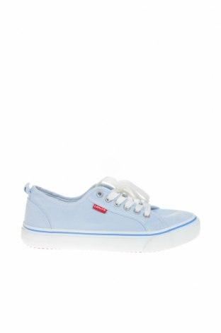 Παιδικά παπούτσια Levi's, Μέγεθος 39, Χρώμα Μπλέ, Κλωστοϋφαντουργικά προϊόντα, Τιμή 30,54€