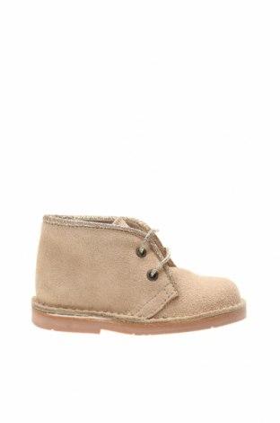 Детски обувки Lola Palacios, Размер 20, Цвят Бежов, Естествен велур, Цена 26,09лв.