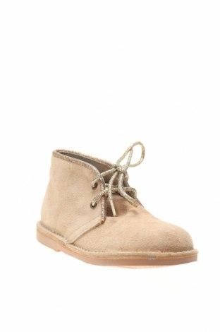 Детски обувки Lola Palacios, Размер 27, Цвят Бежов, Естествен велур, Цена 26,09лв.