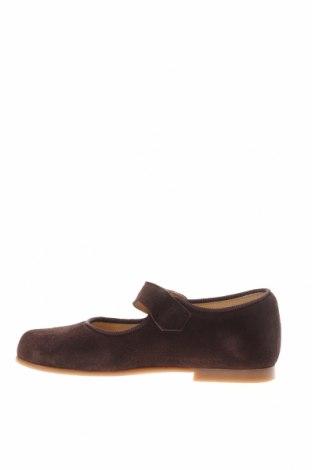 Детски обувки Lola Palacios, Размер 28, Цвят Кафяв, Естествен велур, текстил, Цена 59,25лв.