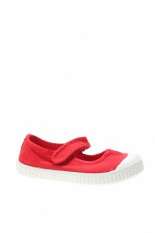Детски обувки Lola Palacios, Размер 24, Цвят Червен, Текстил, Цена 21,07лв.