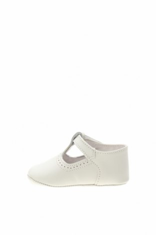 Детски обувки Lola Palacios, Размер 16, Цвят Бял, Еко кожа, Цена 14,70лв.