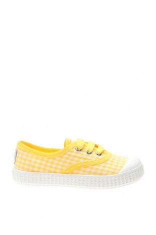 Детски обувки Lola Palacios, Размер 24, Цвят Жълт, Текстил, Цена 31,85лв.