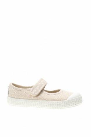 Детски обувки Lola Palacios, Размер 24, Цвят Бежов, Текстил, Цена 31,85лв.