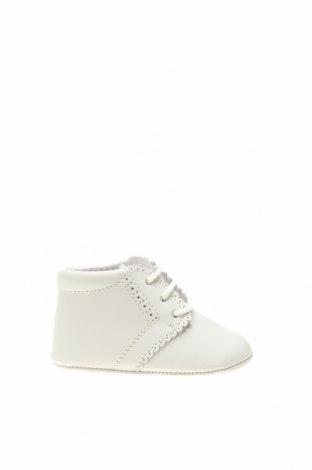 Детски обувки Lola Palacios, Размер 16, Цвят Екрю, Еко кожа, Цена 31,85лв.