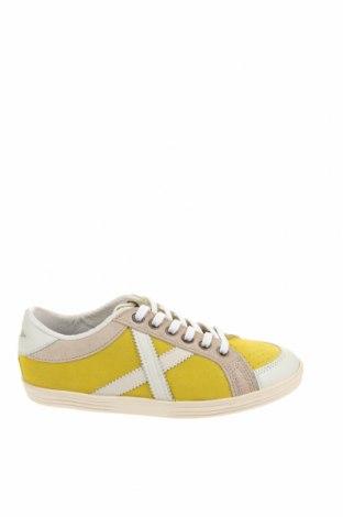 Παιδικά παπούτσια Munich, Μέγεθος 36, Χρώμα Κίτρινο, Φυσικό σουέτ, γνήσιο δέρμα, Τιμή 54,50€
