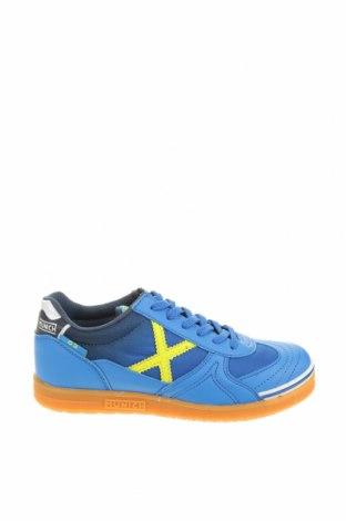 Παιδικά παπούτσια Munich, Μέγεθος 34, Χρώμα Μπλέ, Δερματίνη, κλωστοϋφαντουργικά προϊόντα, Τιμή 44,04€