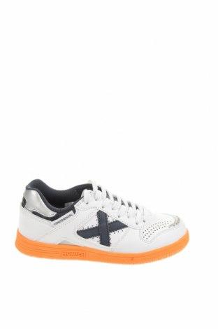 Παιδικά παπούτσια Munich, Μέγεθος 33, Χρώμα Λευκό, Δερματίνη, κλωστοϋφαντουργικά προϊόντα, Τιμή 34,41€
