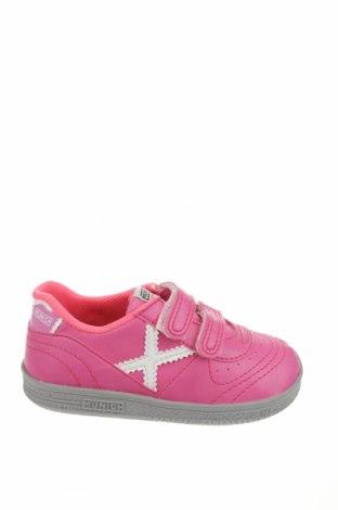 Детски обувки Munich, Размер 25, Цвят Розов, Еко кожа, Цена 23,52лв.