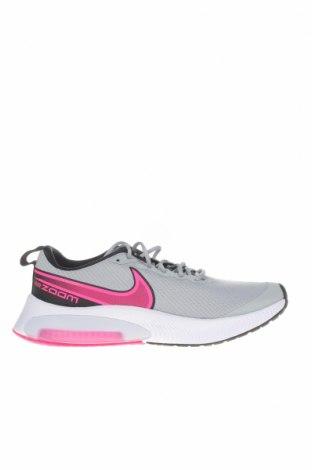 Παιδικά παπούτσια Nike, Μέγεθος 39, Χρώμα Γκρί, Κλωστοϋφαντουργικά προϊόντα, δερματίνη, Τιμή 39,44€