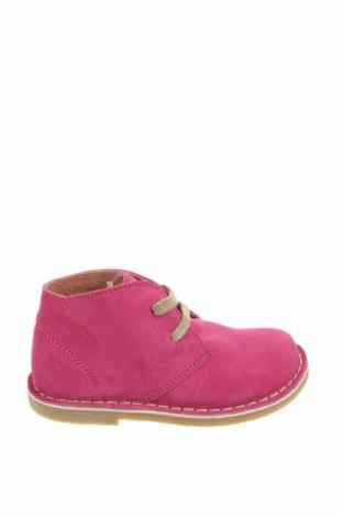 Детски обувки Oca-Loca, Размер 25, Цвят Розов, Естествен велур, Цена 42,51лв.