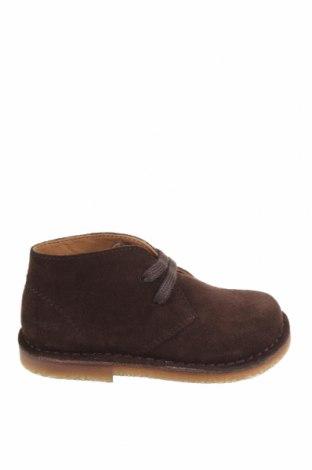 Детски обувки Oca-Loca, Размер 25, Цвят Кафяв, Естествен велур, Цена 40,36лв.