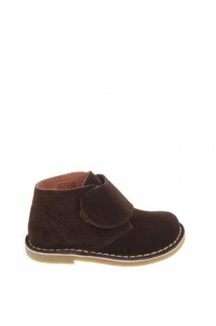 Детски обувки Oca-Loca, Размер 24, Цвят Кафяв, Естествен велур, Цена 41,28лв.