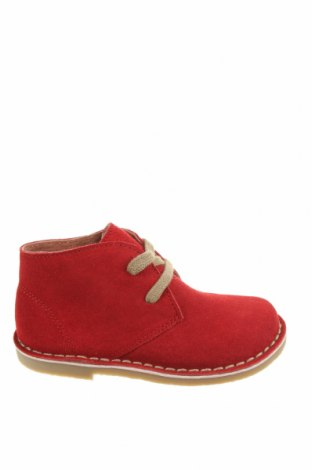 Детски обувки Oca-Loca, Размер 25, Цвят Червен, Естествен велур, Цена 36,60лв.