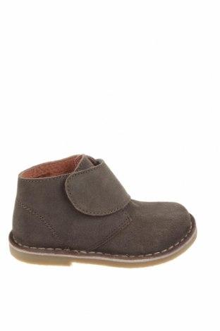 Детски обувки Oca-Loca, Размер 24, Цвят Сив, Естествен велур, Цена 39,20лв.
