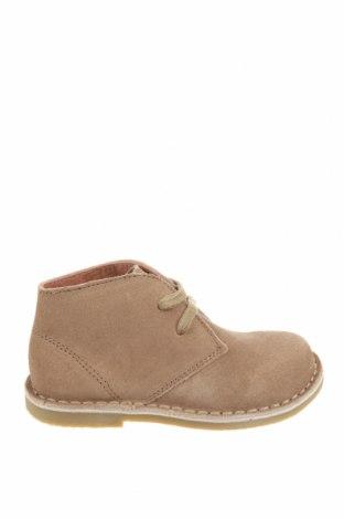 Детски обувки Oca-Loca, Размер 25, Цвят Бежов, Естествен велур, Цена 37,40лв.