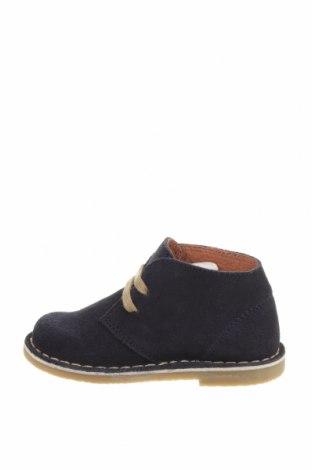 Детски обувки Oca-Loca, Размер 24, Цвят Син, Естествен велур, Цена 36,44лв.