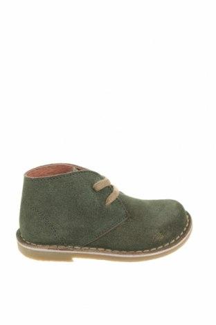 Детски обувки Oca-Loca, Размер 25, Цвят Зелен, Естествен велур, Цена 43,60лв.