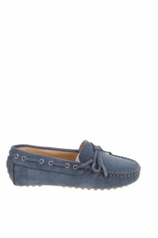 Детски обувки Oca-Loca, Размер 31, Цвят Син, Естествен велур, Цена 30,70лв.