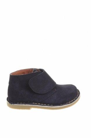 Детски обувки Oca-Loca, Размер 24, Цвят Син, Естествен велур, Цена 38,50лв.