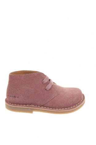 Детски обувки Oca-Loca, Размер 25, Цвят Лилав, Естествен велур, Цена 38,85лв.