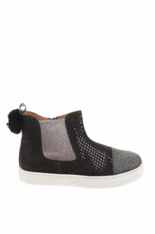 Детски обувки Oca-Loca, Размер 31, Цвят Черен, Естествен велур, текстил, Цена 149,00лв.