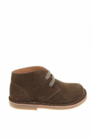 Детски обувки Oca-Loca, Размер 25, Цвят Зелен, Естествен велур, Цена 40,46лв.