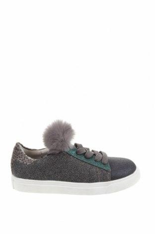 Детски обувки Oca-Loca, Размер 31, Цвят Многоцветен, Текстил, естествен косъм, Цена 46,53лв.