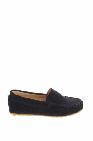 Детски обувки Oca-Loca, Размер 31, Цвят Син, Естествен велур, Цена 31,36лв.