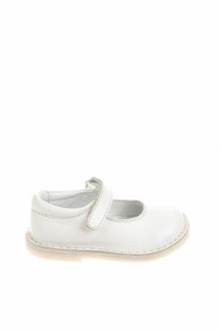 Детски обувки Oca-Loca, Размер 21, Цвят Бял, Естествена кожа, Цена 32,17лв.