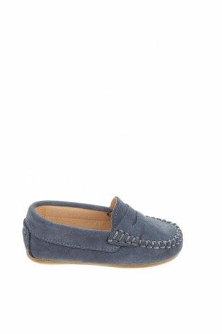 Детски обувки Oca-Loca, Размер 20, Цвят Син, Естествен велур, Цена 23,50лв.