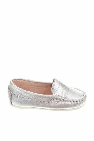 Детски обувки Oca-Loca, Размер 20, Цвят Сребрист, Естествена кожа, Цена 25,07лв.