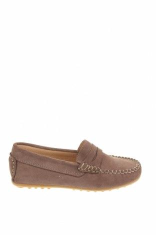 Детски обувки Oca-Loca, Размер 31, Цвят Кафяв, Естествен велур, Цена 46,87лв.