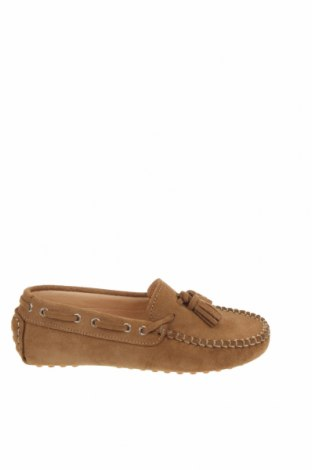 Детски обувки Oca-Loca, Размер 31, Цвят Кафяв, Естествен велур, Цена 25,07лв.