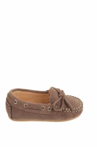 Детски обувки Oca-Loca, Размер 20, Цвят Кафяв, Естествен велур, Цена 25,07лв.