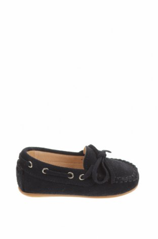 Детски обувки Oca-Loca, Размер 20, Цвят Син, Естествен велур, Цена 25,07лв.