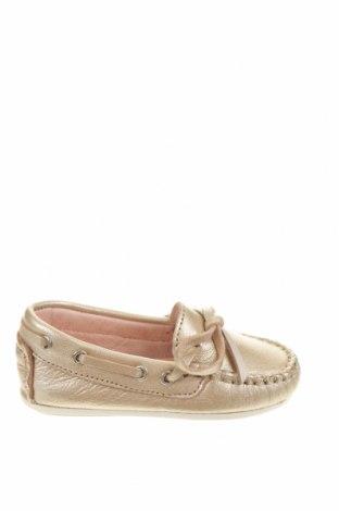 Детски обувки Oca-Loca, Размер 20, Цвят Златист, Естествена кожа, Цена 57,77лв.