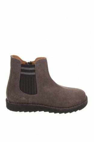 Детски обувки Oca-Loca, Размер 31, Цвят Сив, Естествен велур, Цена 149,00лв.