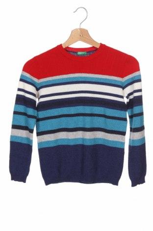 Dětský svetr  United Colors Of Benetton, Velikost 7-8y/ 128-134 cm, Barva Vícebarevné, 32% vlna, 32% polyamide, 30% viskóza, 3% kašmír , 3% jiné materiály, Cena  925,00Kč
