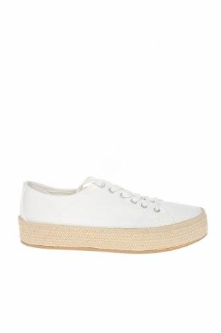 Εσπάδριλλες Tamaris, Μέγεθος 40, Χρώμα Λευκό, Κλωστοϋφαντουργικά προϊόντα, Τιμή 21,44€