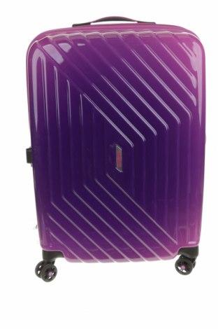 Куфар American Tourister, Цвят Розов, Полиуретан, Цена 111,75лв.
