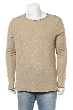 Pánské tričko  Review, Velikost L, Barva Béžová, 55% bavlna, 42% polyester, 3% elastan, Cena  220,00Kč
